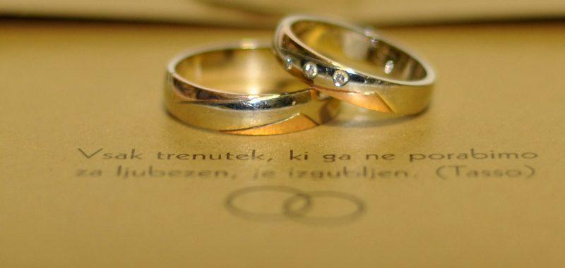 Grafično oblikovanje vabila za poroko