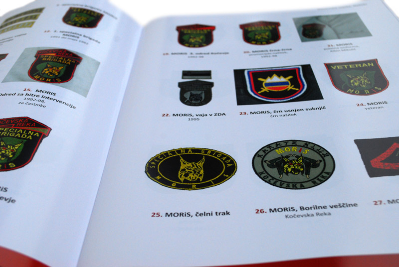 Slovenska vojska - NAŠITKI :: oblikovanje