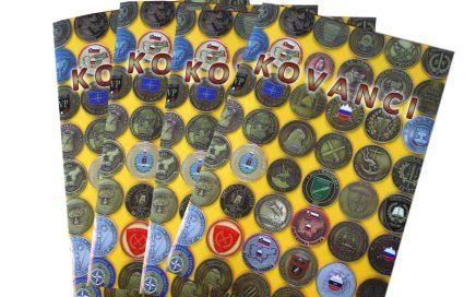Oblikovanje kataloga Kovanci