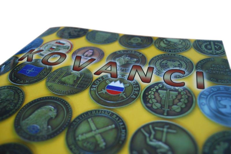 Oblikovanje kataloga Slovenska vojska: Kovanci